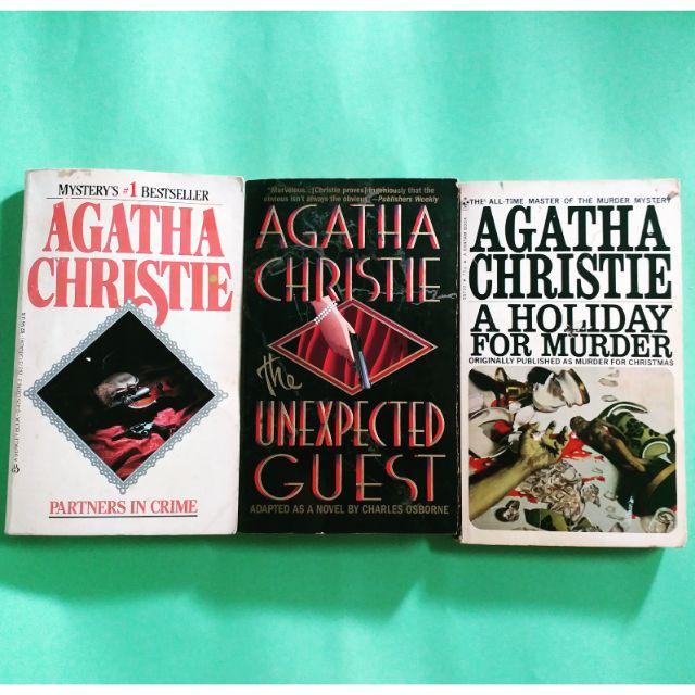 Agatha Christie Bundle Shopee Philippines