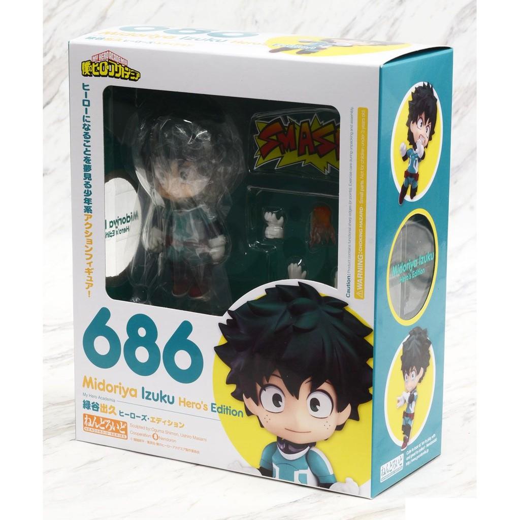 Nendoroid 686 My Hero Academia IZUKU MIDORIYA Hero/'s Edition Figure GSC