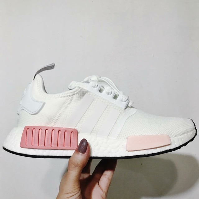new arrival cce4b 4f64c Adidas NMD R1 White Rose