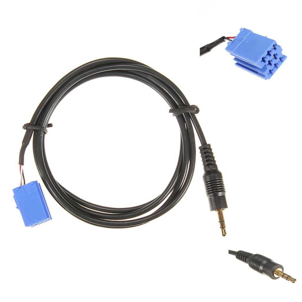 Compatible avec Blaupunkt 10 Pôle 3,5 mm Jack AUX câble adaptateur connecteur mp3