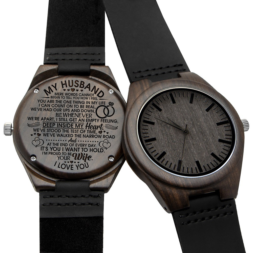 Leather Watch Idea Gifts Personalized