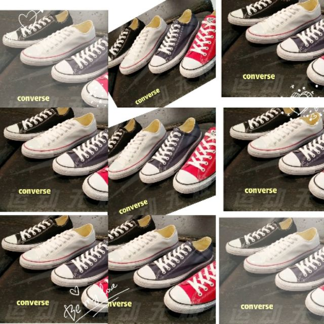 b81e10ab4ae5 ProductImage. ProductImage. CONVERSE all star low low shoes for women and  ladies
