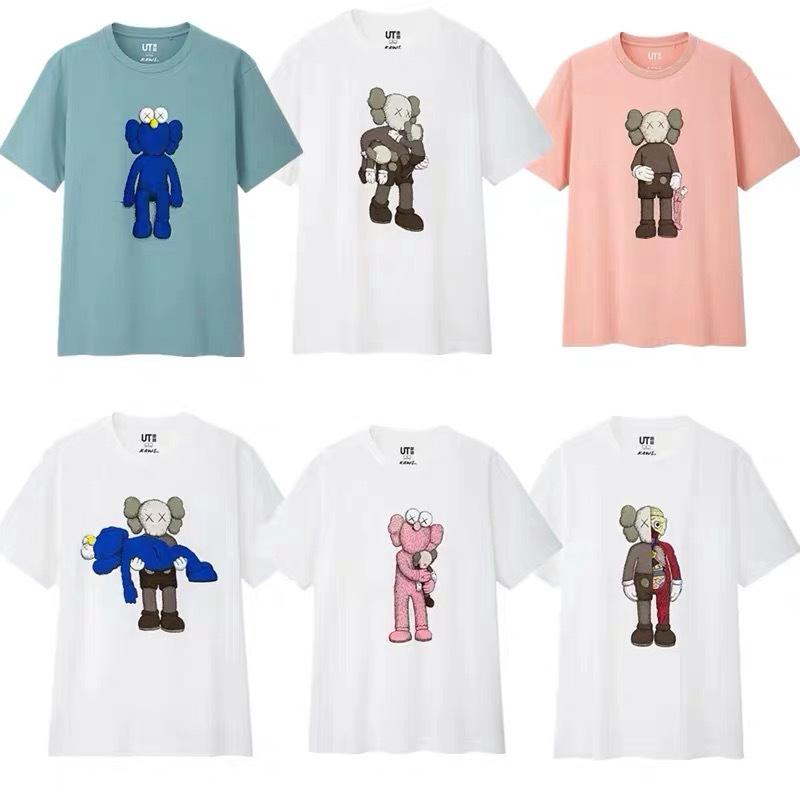 Mrs Uniqlo Uniqlo X Kaws Ut Third Bomb Sesame Street Short Sleeve T Shirt Female To Male Joint Shopee Philippines
