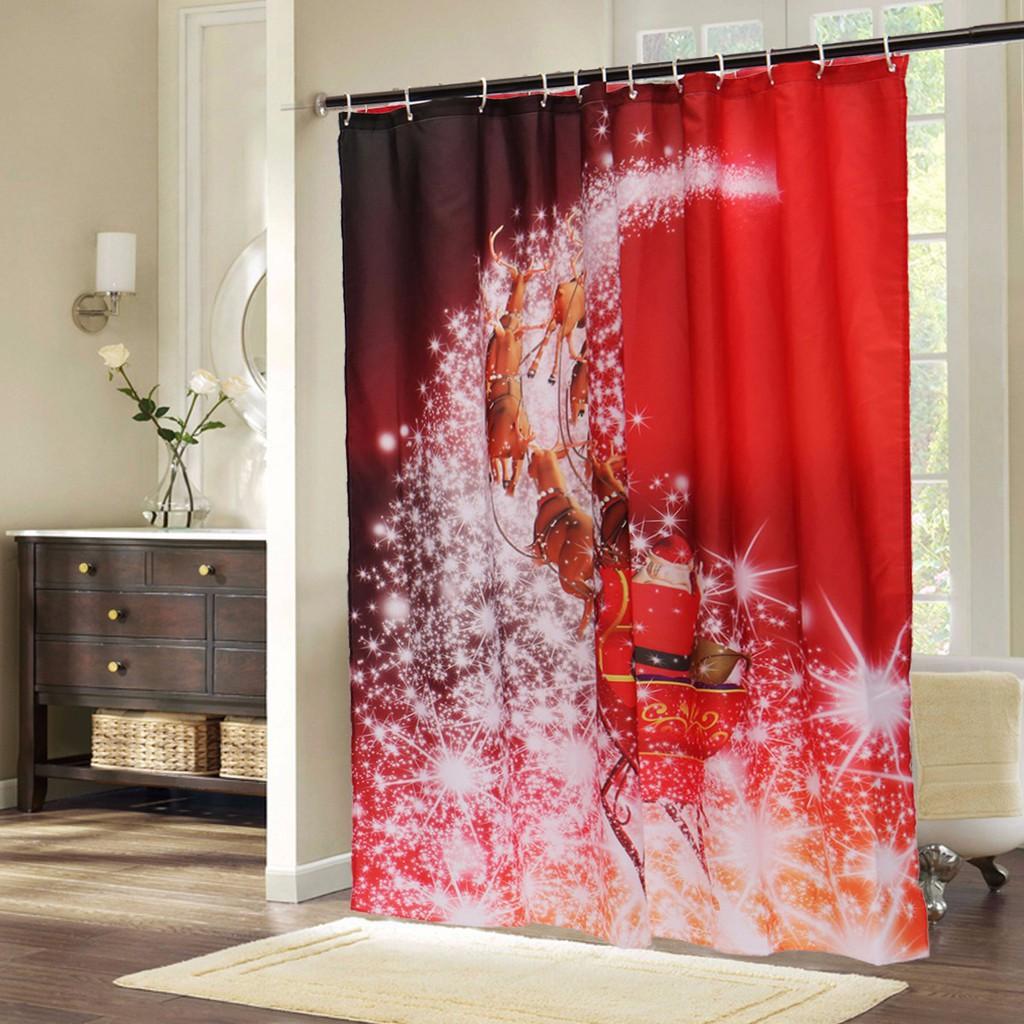 Decorative Shower Curtain Hooks Knbob Fabric Shower Curtain