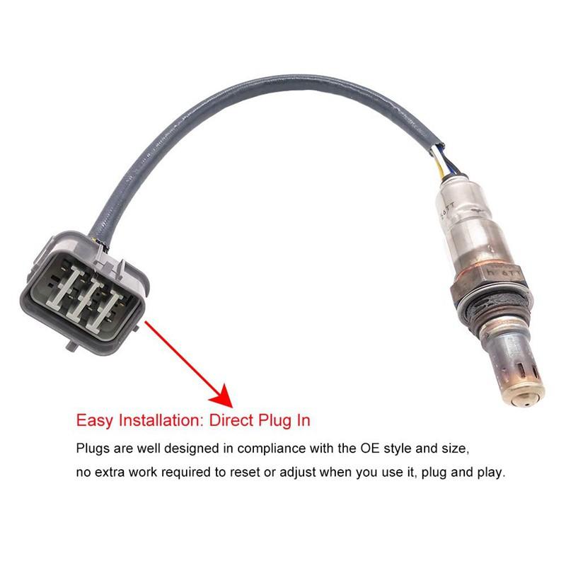 5-Wires Air Fuel Ratio O2 Oxygen Sensor 234-5010 For Honda Acura 3.2L 3.5L