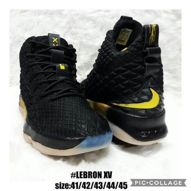 pretty nice 62087 d1ae7 NIKE LEBRON JAMES XV BASKETBALL SHOES FOR HIM. SIZES 41-45.   Shopee  Philippines