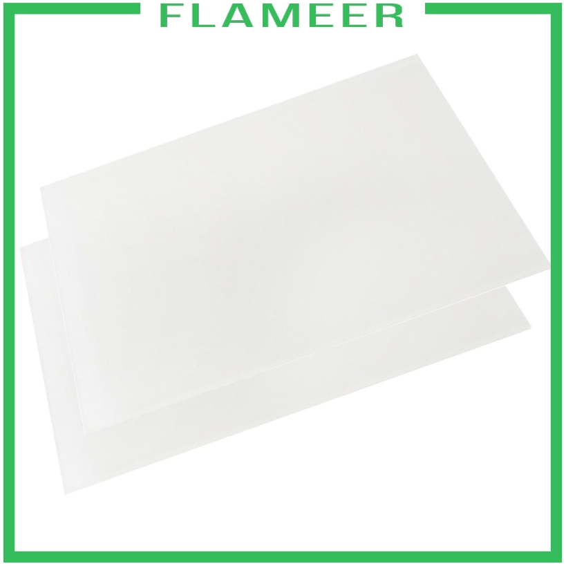 Flameer 2x Acrylic Board Diy Crafts Model Organic Glass Sheets Easy To Cut Plates Shopee Philippines