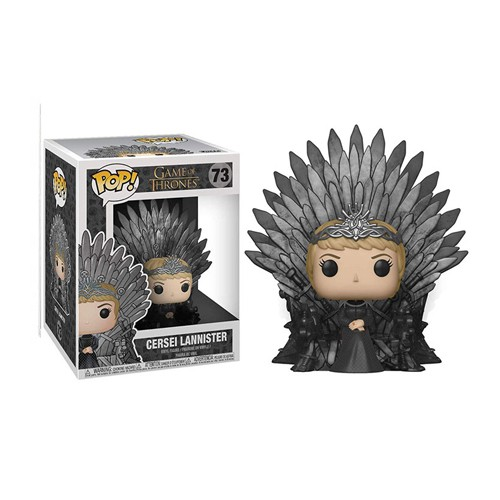 Cersei Lannister Sitting on Throne New Game Of Thrones S10 Funko POP Deluxe