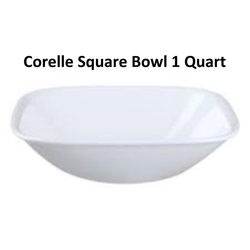 Corning Ware, Corelle Kitchen Glassware Corelle Square Pure White ...