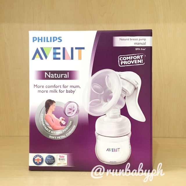 On Sale Philips Avent Natural Manual Breast Pump Shopee