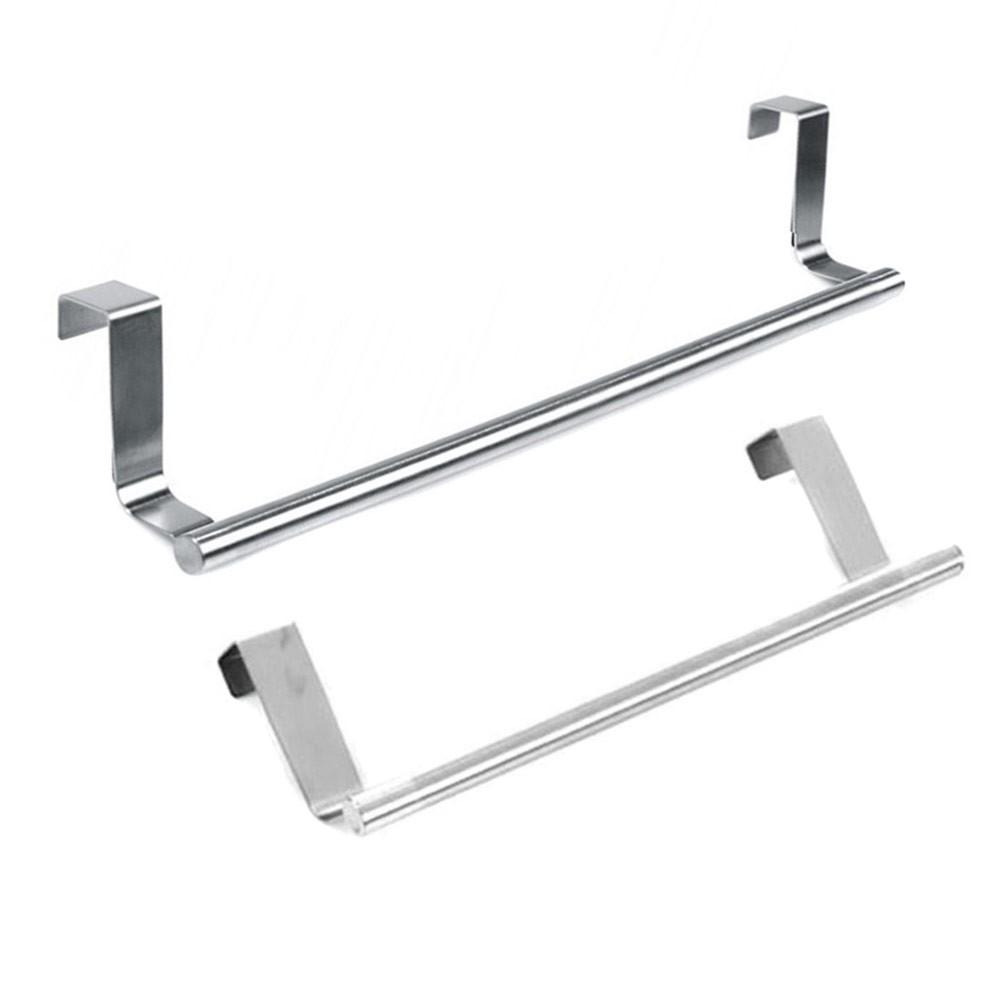 2019 Tissue Holder Hanging Bathroom Toilet Roll Paper Holder Rack Kitchen Cabinet Door Hook Holder White 23.5*12*7cm Bathroom Hardware Home Improvement