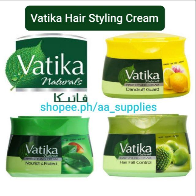 Vatika Hair Styling Cream 140ml Shopee Philippines