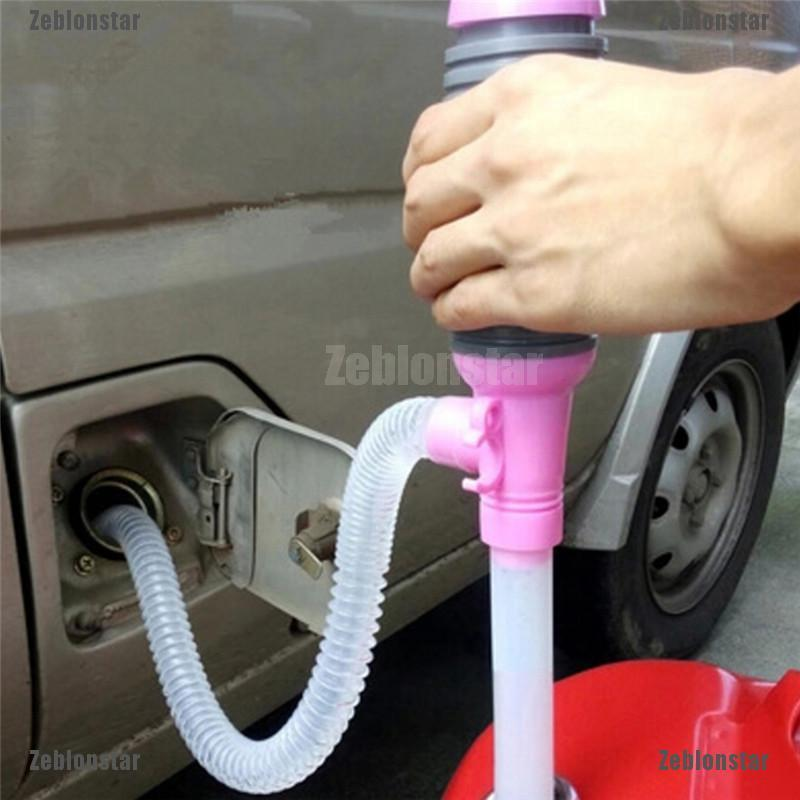 Car Diesel Fuel Water Oil Gas Solvent Electric Battery Syphon Powered Pump 7.5L