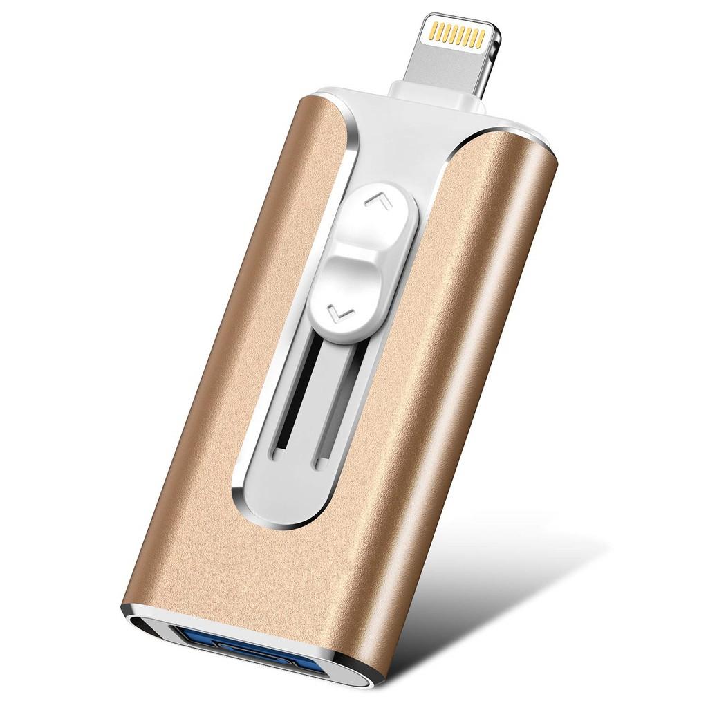 EATOP iOS Flash USB 3.0 Drive 128GB iPhone Flash Drive for iPhone X XR XS MAX