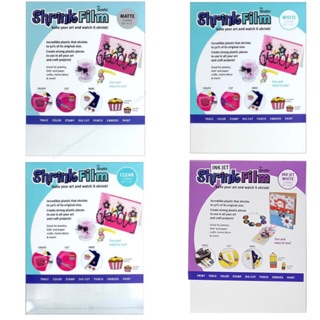 picture about Printable Shrink Plastic known as Grafix Inkjet Printable Shrink Plastic Packs Shopee