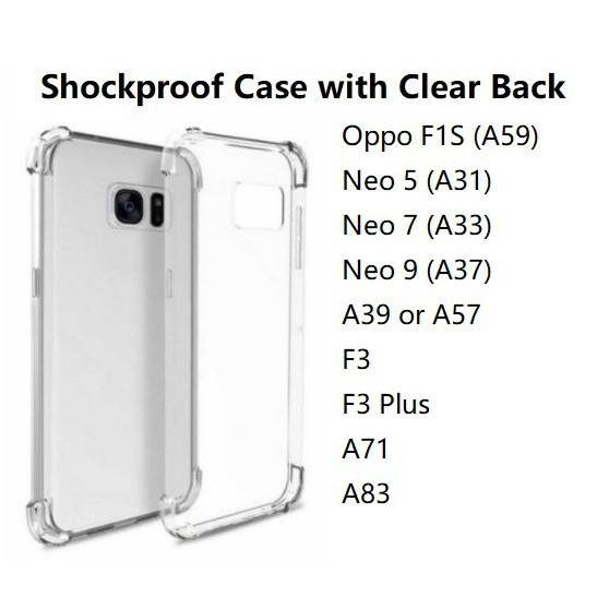 promo code a17e5 0adf0 Shockproof Case Oppo F1S Neo 5 7 9 A39 F3 Plus A57 A71 A83