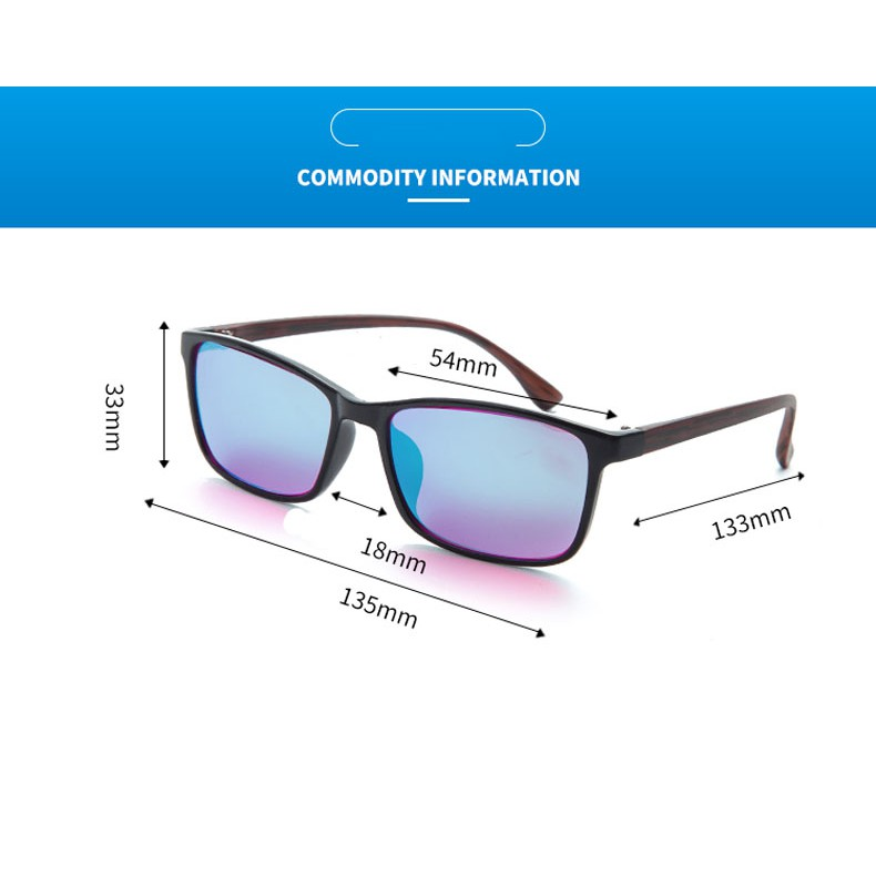 Women Men Color Blindness Glasses Red Green Color Blind Corrective HD Glasses | Shopee Philippines