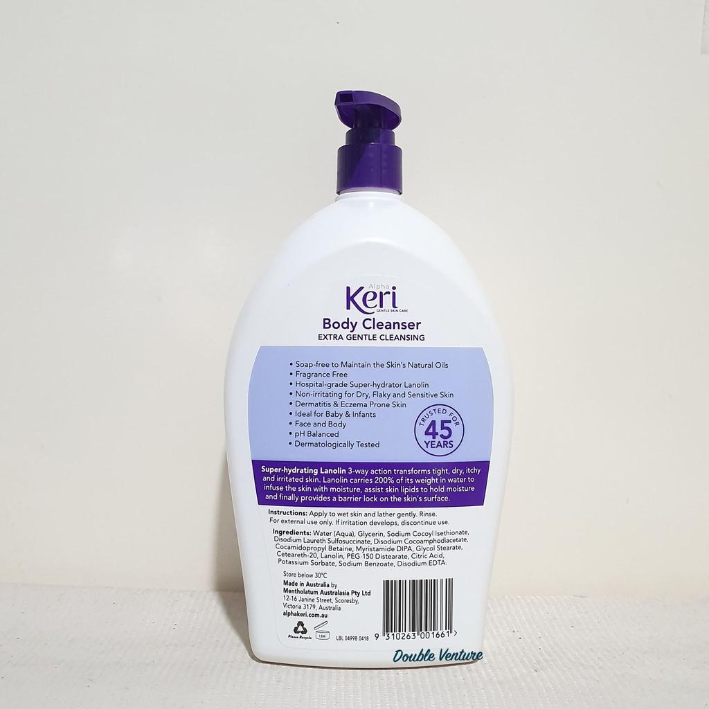 Alpha Keri 1L Variants (Lotion/ Shower and Bath Oil/ Body