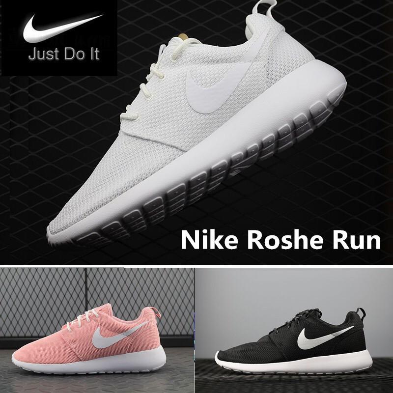 super popular 400aa a6e42 Nike Roshe Run Men Women Runining Shoes Size 35-44   Shopee Philippines