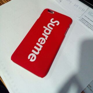 new style fd2c6 2df5e Supreme Case for iPhone 6 plus / 6s plus