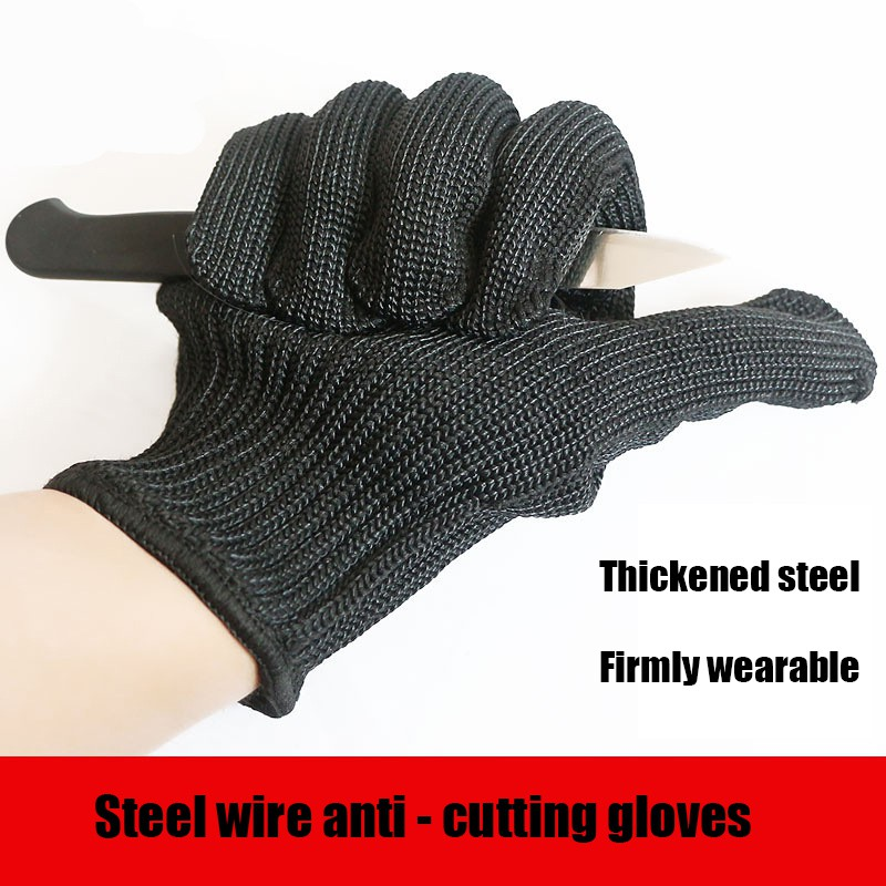 Back To Search Resultssports & Entertainment Camping & Hiking 3 Pair Cut Proof Stab Protect Stainless Steel Wire Outdoor Gloves Cut Metal Mesh Butcher Anti-cutting Breathable Gloves Fc Cheap Sales 50%