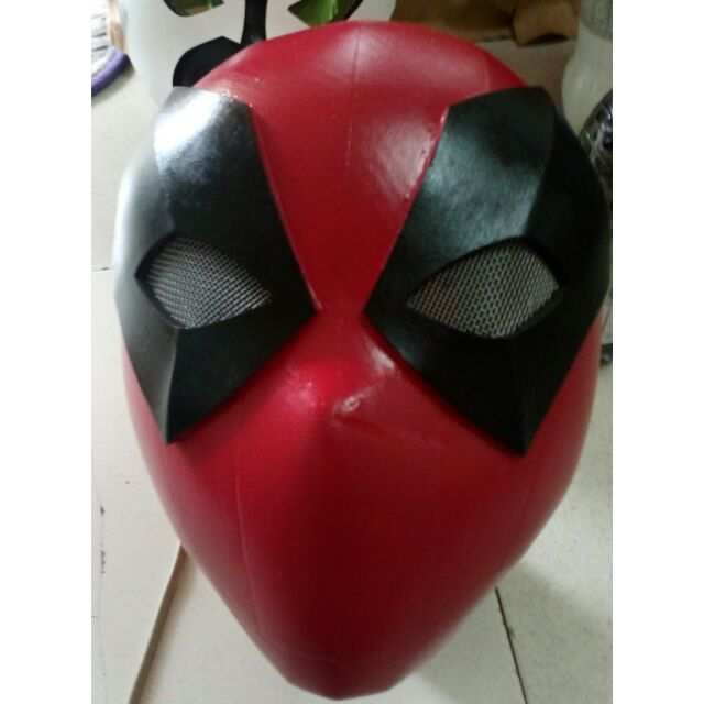 Deadpool Full Face Mask Shopee Philippines