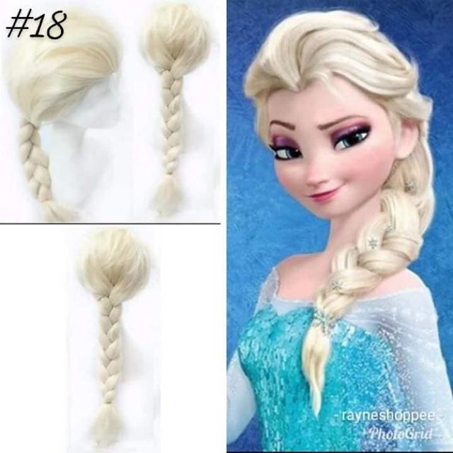 Noblekids Elsa Wig For Kids Shopee Philippines
