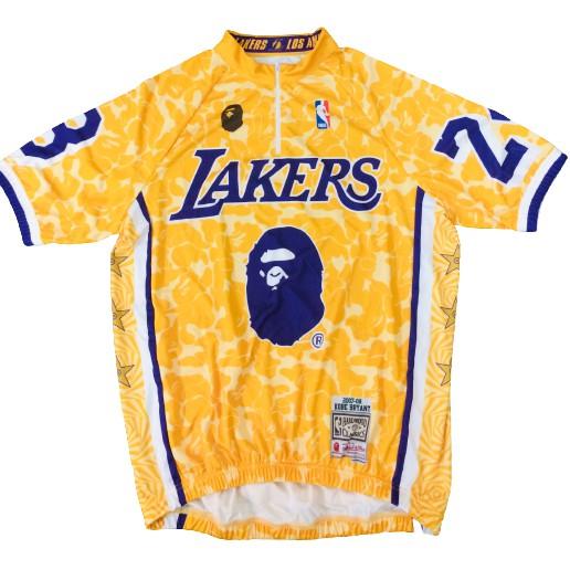 BAPE KOBE LAKERS Cycling Jersey Sublimation | Shopee Philippines