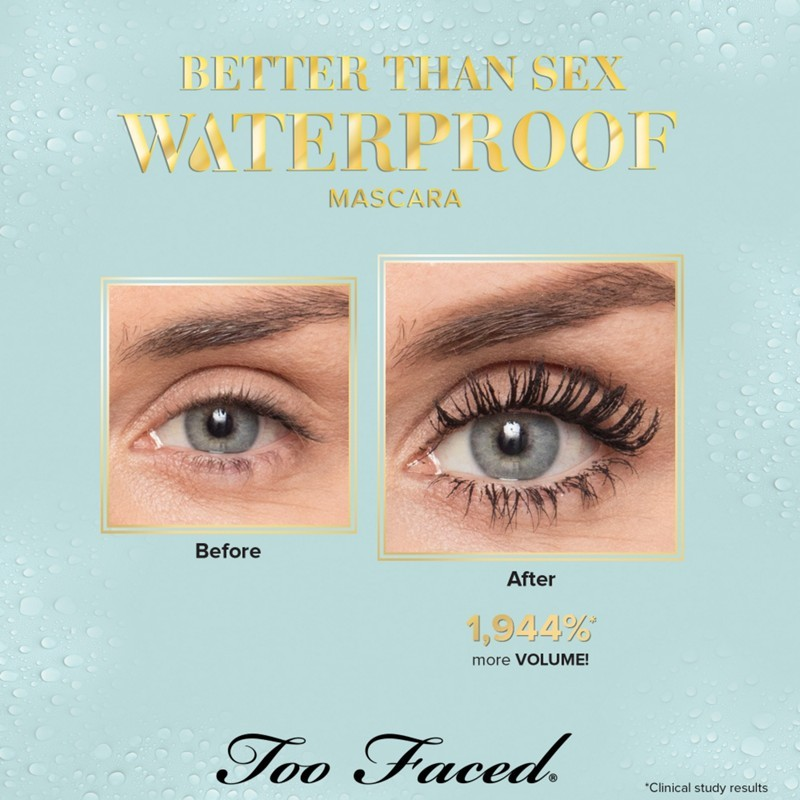 349644287d1 SALE!] AUTHENTIC Too Faced Better than Sex Mascara | Shopee Philippines
