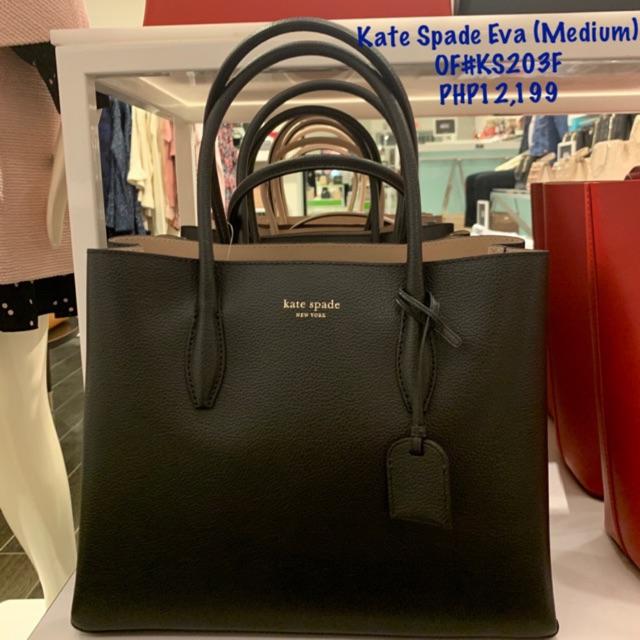promo code hot products on wholesale Kate Spade Eva Leather Medium Satchel ♠️