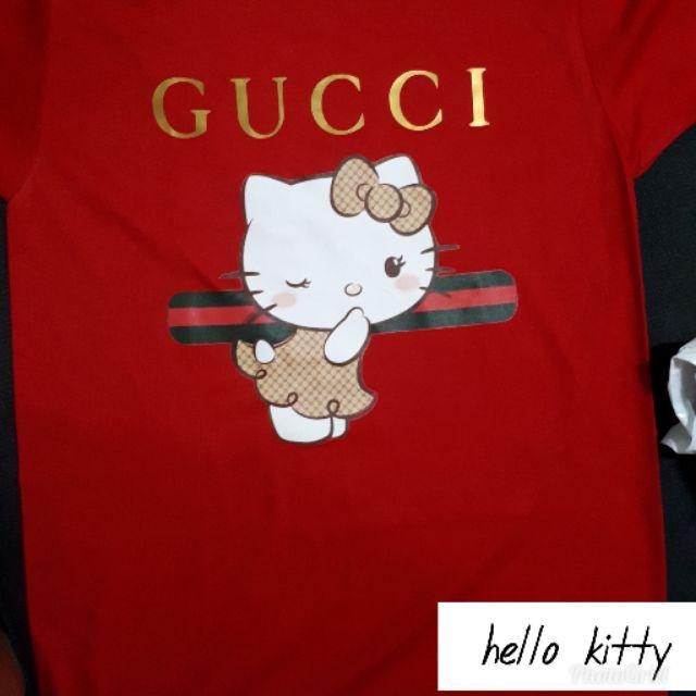 f733f20fd Hello Kitty x Supreme Unisex Shirt | Shopee Philippines