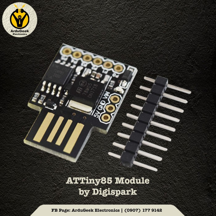 ATtiny85 Development Board by Digispark