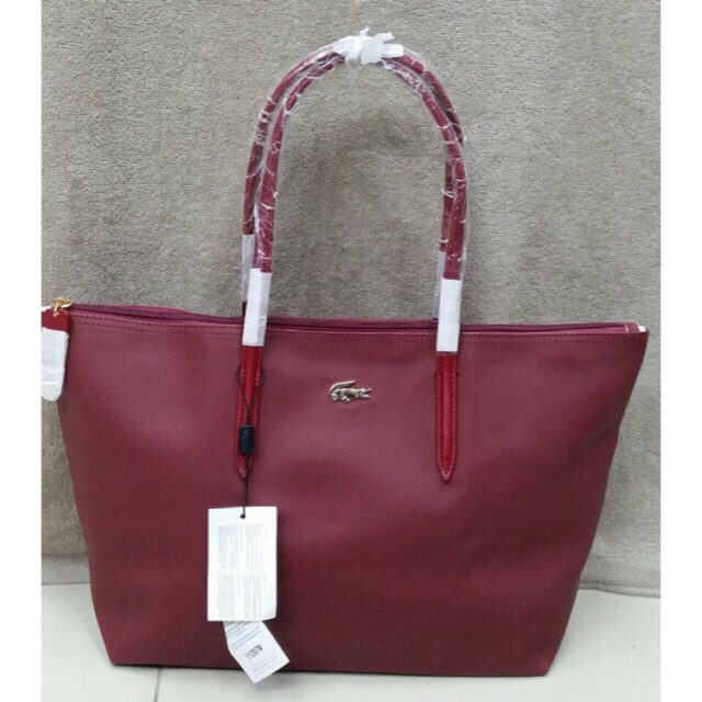 07686c755e2a Elle Ladies 076 Tote Bag (Maroon)