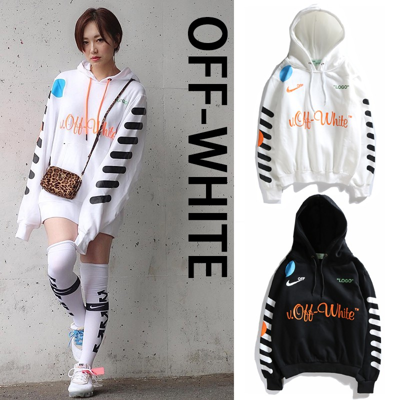 lo mismo Enseñando Consulta  Off white Join Nike hooded World cup sweater   Shopee Philippines