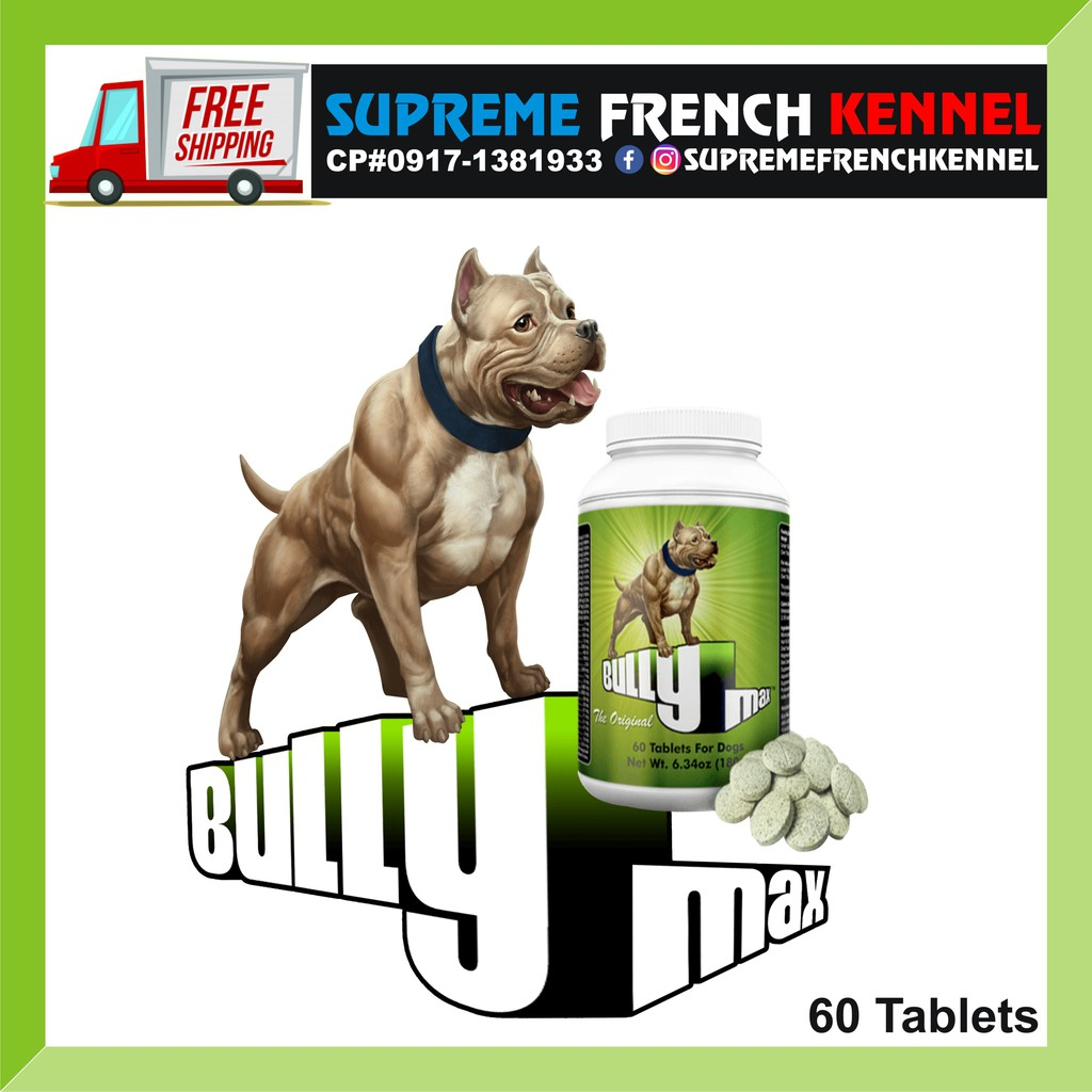 Dogs Love The Taste! Vet-Approved For All Breeds /& Ages Bulk Up Your Dog with Bully Max Muscle Building Chews