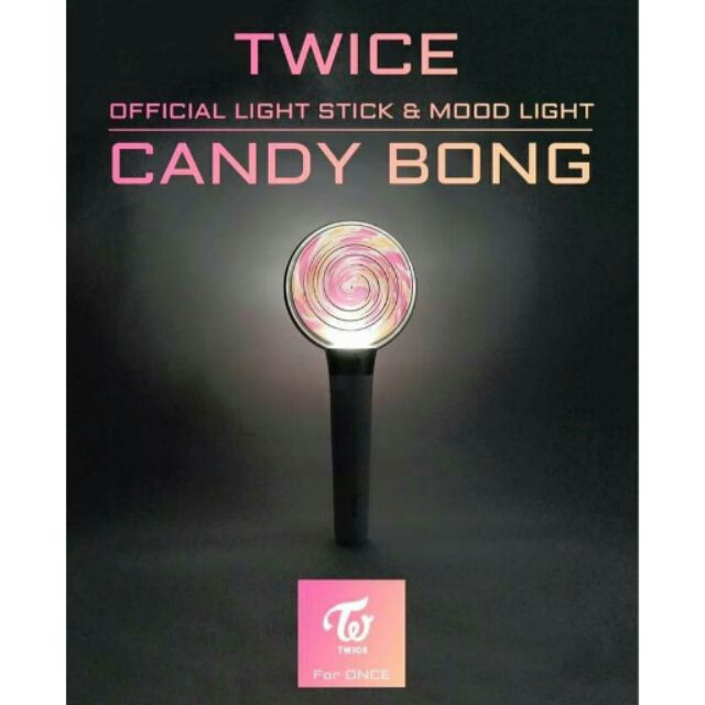 Twice candy bong official lightstick - 2000php