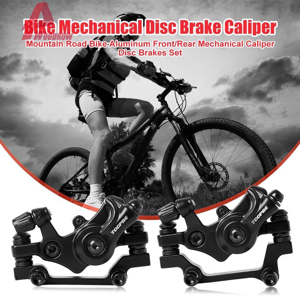 Bicycle Front Rear Caliper Mechanical Disc Brake Cycling Mountain Part MTB  Bike
