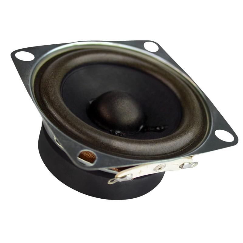 """2pcs 1.5/"""" inch 4Ohm 4Ω 5W Full-range Speaker Loudspeaker Neodymium For harman"""