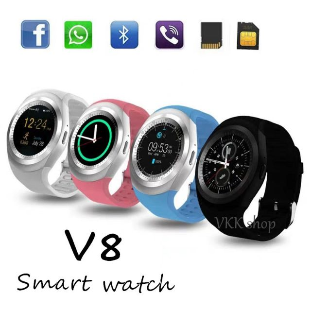 V8 smart watch bluetooth compatible with Android/ios system