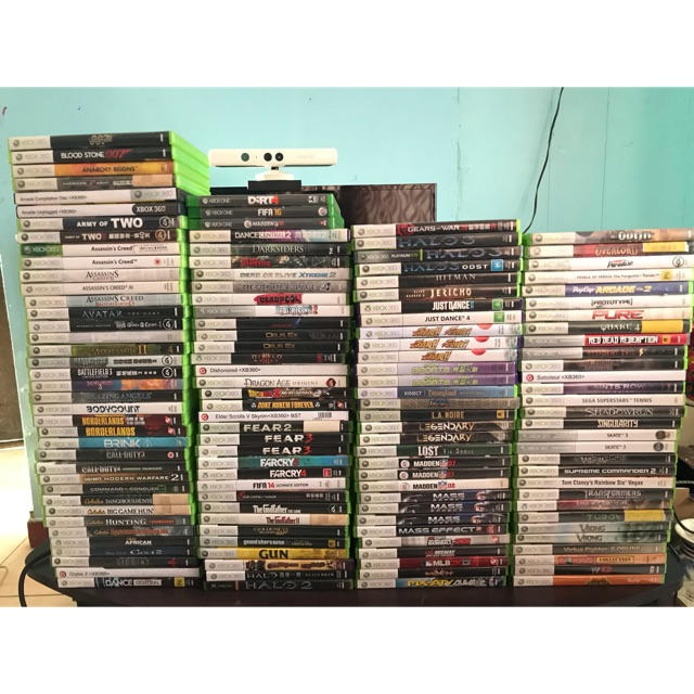 Massive Selection of XBOX 360 games!!