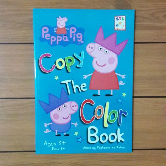 Peppa Pig Copy the Color
