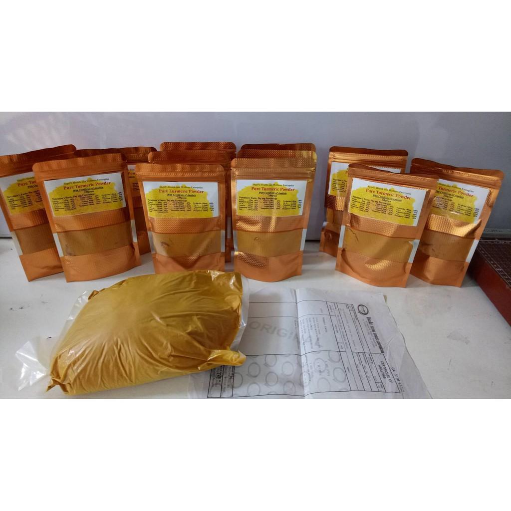 Jedidiah Turmeric Powder Pouch 150 G Shopee Philippines Prenagen Lactamom Chocolate 400 R15