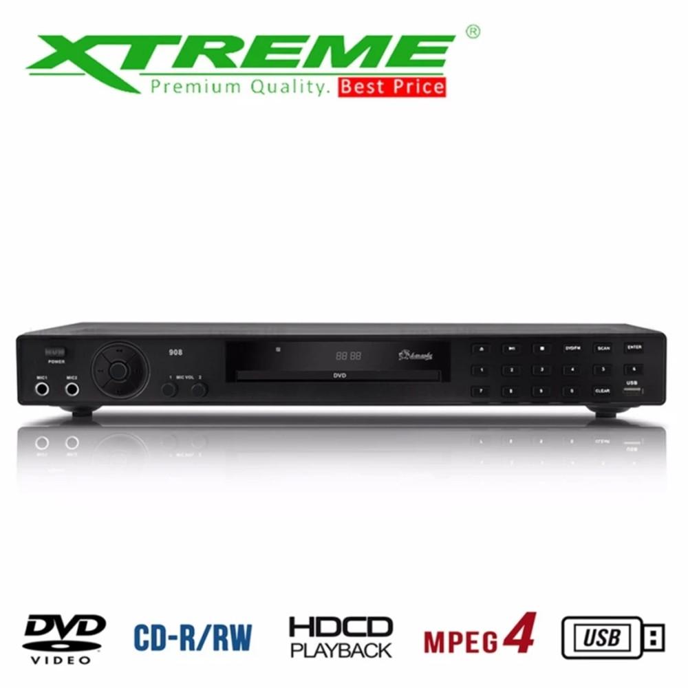 Xtreme XT-908/XT-913 MIDI DVD Karaoke Player with 7000 songs