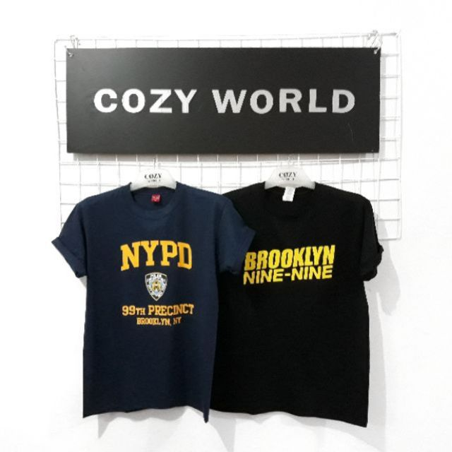 b2dfb039 BROOKLYN 99 NYPD TSHIRT | Shopee Philippines