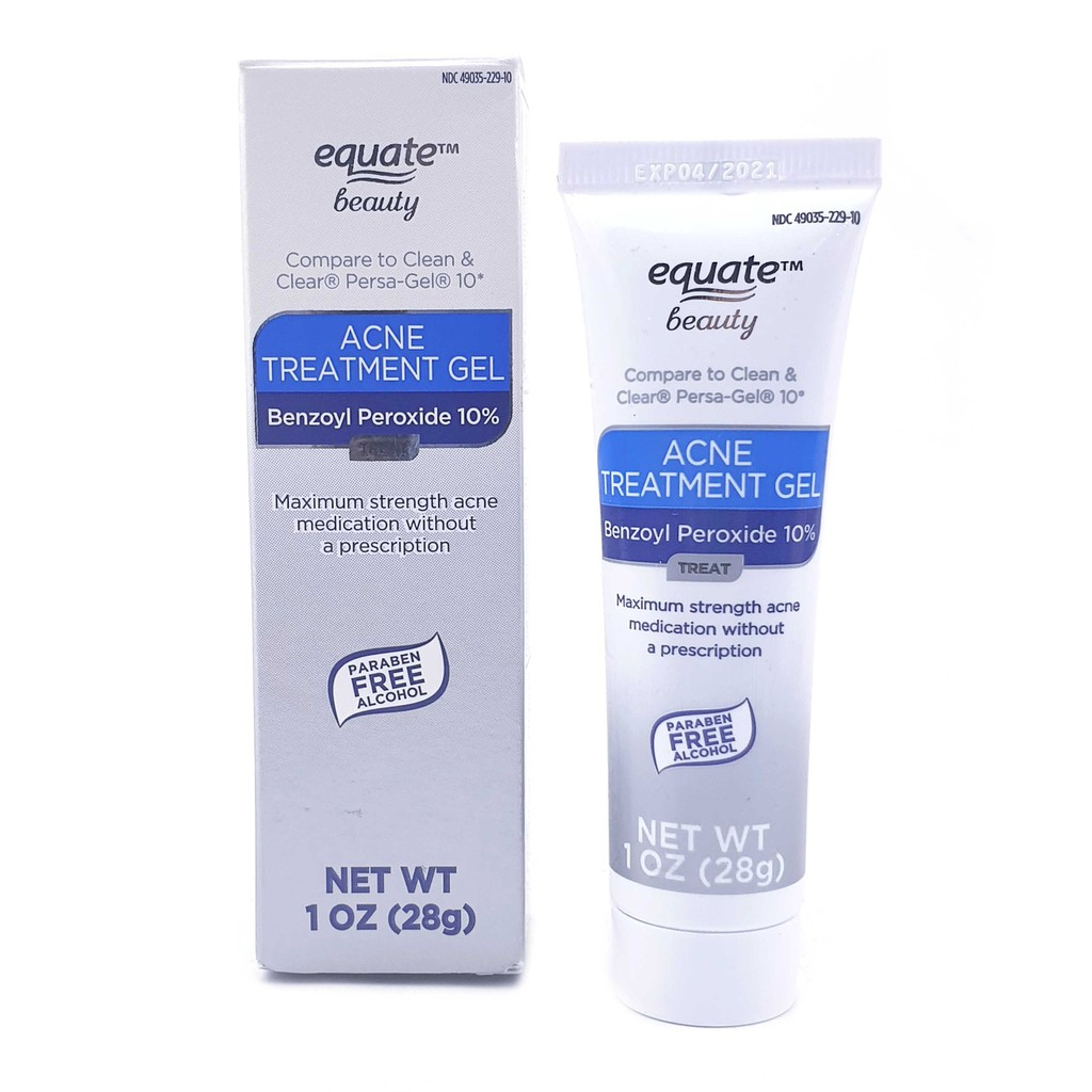Equate Beauty 10 Benzoyl Peroxide Acne Treatment Gel Shopee