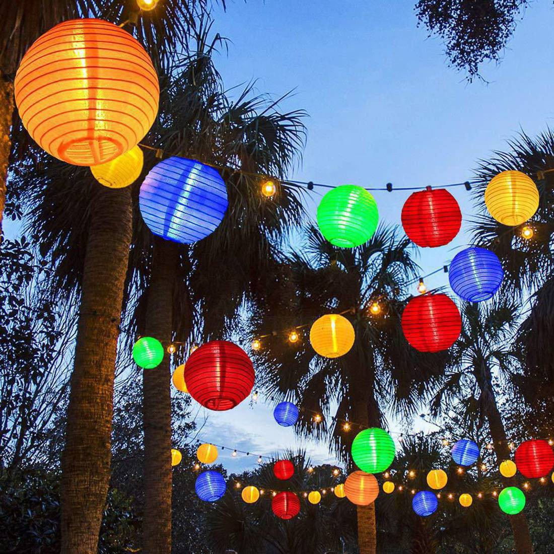Hot Lantern String Lights Lantern Lights For Bedroom Colorful Mini Lanterns Outdoor Hanging Lights For Patio Shopee Philippines
