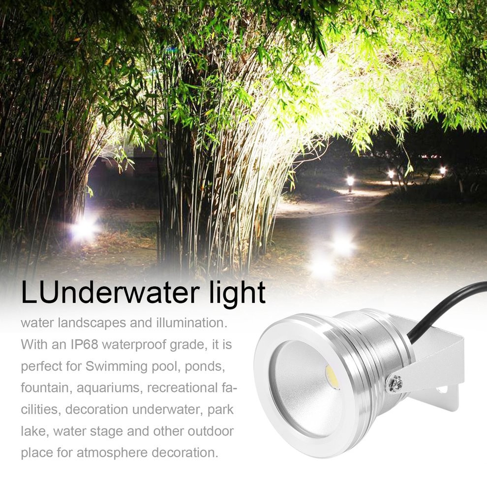 Led Underwater Lights Red 9w High Power Led Fountain Swimming Pool Pond Lake Tank Light Underwater Lamp Bulb Outdoor Garden Party Ip68 Dc 12v To Ensure Smooth Transmission Led Lamps