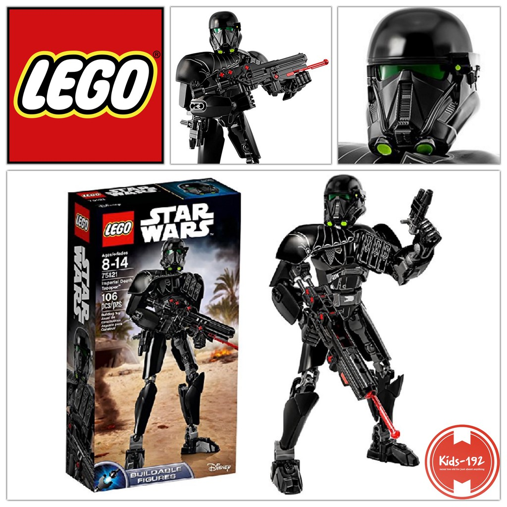 LEGO 75121 Star Wars Imperial Death Trooper Buildable Figure 106 Pieces NEW