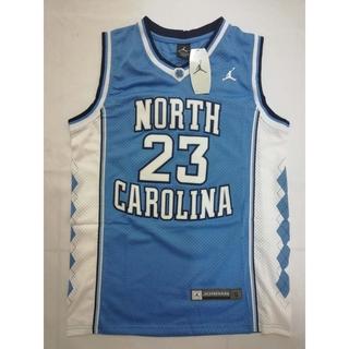 timeless design 24eba 692ee Michael Jordan #23 North Carolina Tarheels Basketball Jersey ...