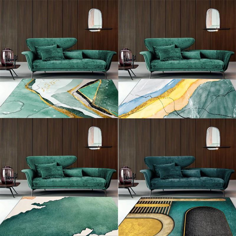 Living Room Nordic Light Green Carpet Modern Home Sofa Tea Table Blanket Shopee Philippines